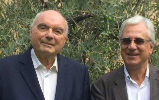 Paolo Brunetti con Lorenzo Verlato